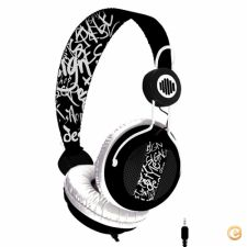 Headphones B-Move Soundwave Black/White - NOVO
