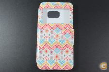 Capa Samsung Galaxy S6 Edge Plus Flip Cover Pattern *Em 24h!