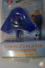 IF19 Adaptador 2 comandos PSX PS2 para PC