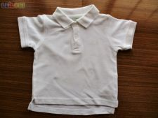 Polo Branco da Zippy Baby