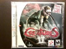 NIGHTMARE CREATURES II 2 NTSC Dreamcast COMPLETO