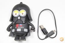 Power Bank 1xUSB 5600mAh Darth Vader *Entrega em 24h!