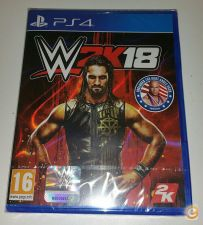 WWE 2K18 PS4 NOVO e EMBALADO EM STOCK
