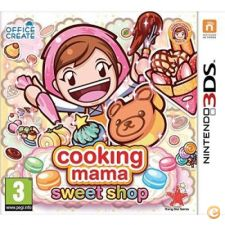 Cooking Mama Sweet Shop NOVO Nintendo 3DS