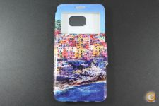 Capa Samsung Galaxy S6 Edge Plus Flip Cover Building*Em 24h!