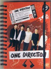 ONE DIRECTION CADERNO- Novo e embalado