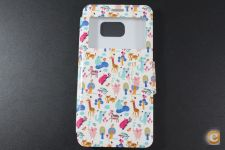 Capa Samsung Galaxy S6 Edge Plus Flip Cover Animals *Em 24h!