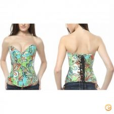 14a24817 - Roupa mulher lingerie Corset Floral Mulheres Sexy