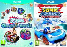 Wii U - Family Party + Sonic & All Stars Racing Transformed