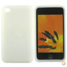 Capa em silicone - iPod Touch 4 (Branco)