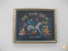Quadro decorativo - The toy shop