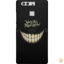 Capa We are all mad here para Huawei P9