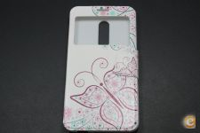 Capa Alcatel One Touch A3 XL Flip Cover Butterfly *Em 24h!