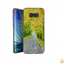 Capa Colorful Trees Landscape para Galaxy S8