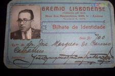 CARTÃO GREMIO LISBONENSE