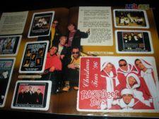 Caderneta Backstreet Boys DS Completa