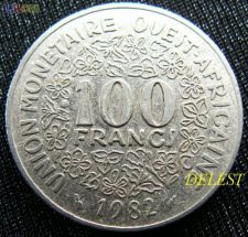 África Ocidental Oeste 100 francs 1982 KM# 4