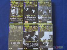 A Escolher 3 Filmes  VHS de 9 Filmes de Grandes Realizadores