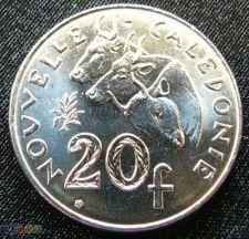 Nova Caledónia 20 francs 2003 KM# 9 UNC   *V