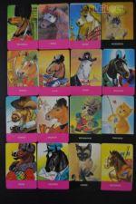 Lote 16 Calendários Estudio Grafico ARTecnica 1987