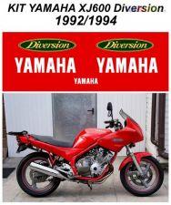 Kit Autocolantes Yamaha XJ600 Diversion 1992-1994