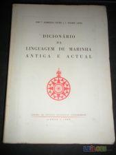 Dicionário Da Linguagem De Marinha Antiga E Actual 1963
