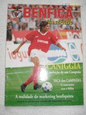 REVISTA  BENFICA  ILUSTRADO Nº 25 DE 1994