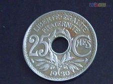 L- 119- FRANÇA- excelente moeda-25 cent. 1930 apenas    1,89