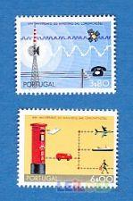 1973 -  NOVO - 25º ANIV. MINISTÉRIO COMUNICAÇÕES   2 VALORES