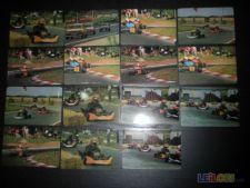 Lote 15 Calendários Corridas de Karting 1986
