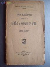 Notas elucidativas aos poemas,Camões e Retrato de Vénus de..