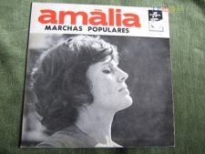 """Amália Rodrigues-Marchas Populares-Single 7""""-45 RPM"""