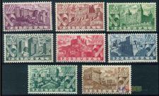 1946 - Castelos - Serie completa nova (**)- AF 664 - 671