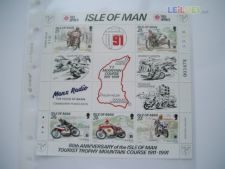 ISLE OF MAN - BLOCO  SCOTT 476A    NOVO - MOTOS