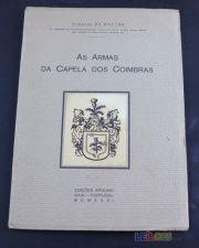 HERÁLDICA  Armas da Capela dos Coimbras 1931 Dedicatória