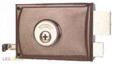 Fechadura com chave 4 entradas 10 cm Direita AGC