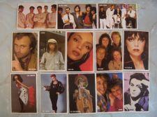 Lote 81 Calendários The Top Disco Stars 1985 Col Completa
