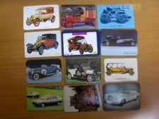 Lote 170 Calendários  Automóveis Antigos e Outros Anos 80/90