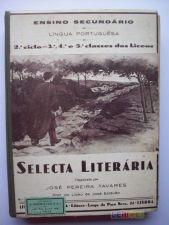 Selecta Literária 3º,4º e 5º classes - José Pereira Tavares