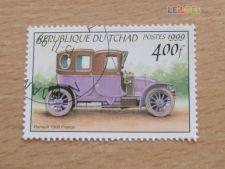 TCHAD - SCOTT 820 - CARROS