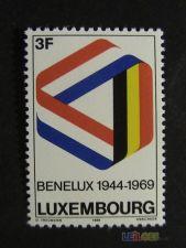Luxemburgo 743  série nova**