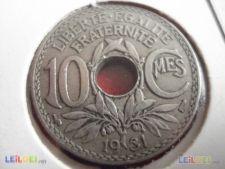 534 FRANÇA 10 CT 1931