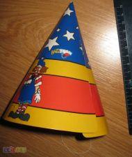 Chapéu de Cartão para festa de aniversário - 10 unidades
