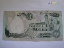 4233 COLOMBIA 200 PESOS 1989