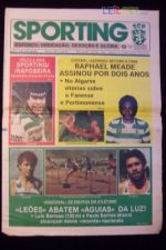 JORNAL DO SPORTING Nº 1963 - ANO 1985
