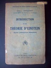 Introduction a la Théorie d' Einstein - Général Vouillemin