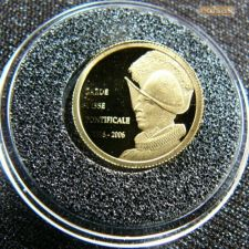 Congo 20 francs 2006 Guarda Suíça do Papa Ouro 999