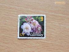 GUERNSEY - SCOTT 821 - FLORES