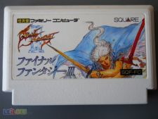FINAL FANTASY III 3 NES xr Jp FAMICOM