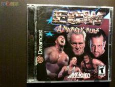 ECW ANARCHY RULZ NTSC Dreamcast COMPLETO